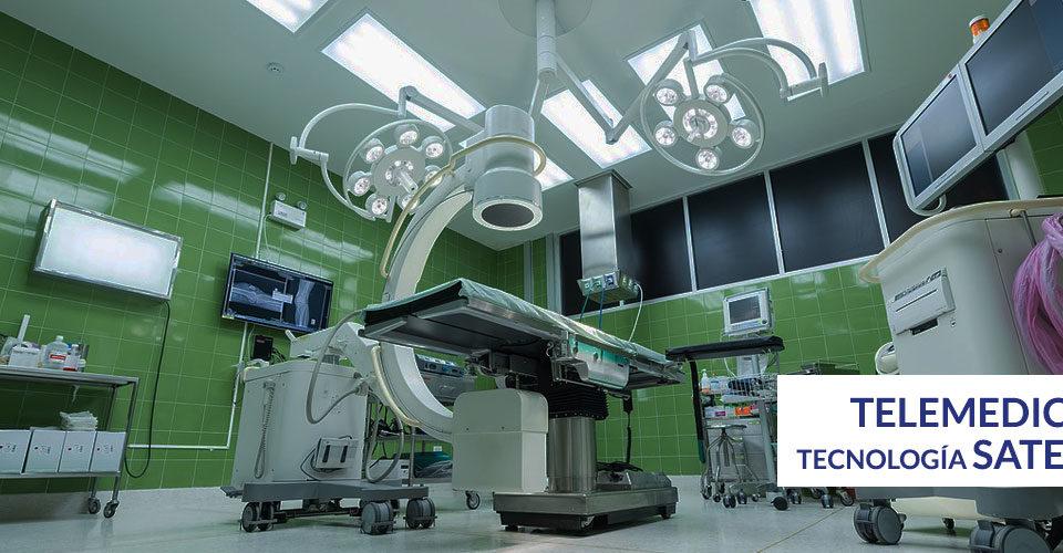 Telemedicina y la conectividad satelital en el sector salud