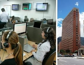 oficina axesat colombia