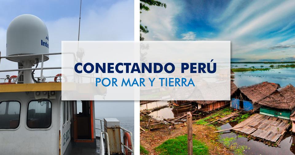 Conectando Perú por mar y tierra Por Mauricio Segovia, CEO de Axesat