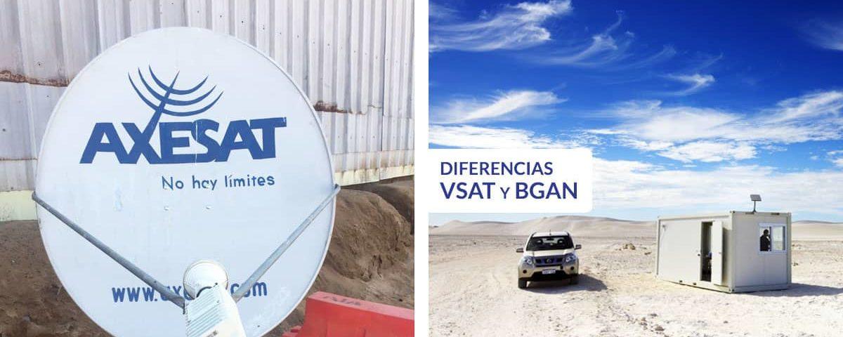 Diferencias entre bgan y vsat