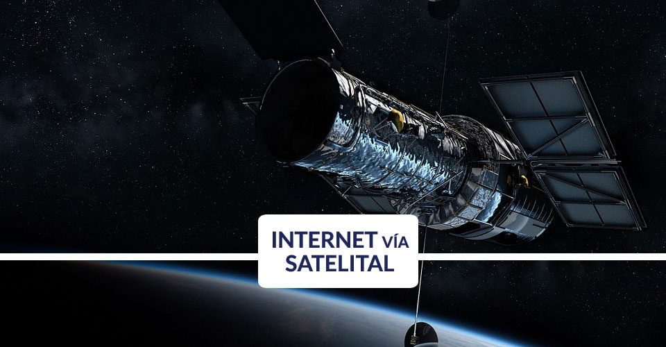 Como funciona el internet vía satélite