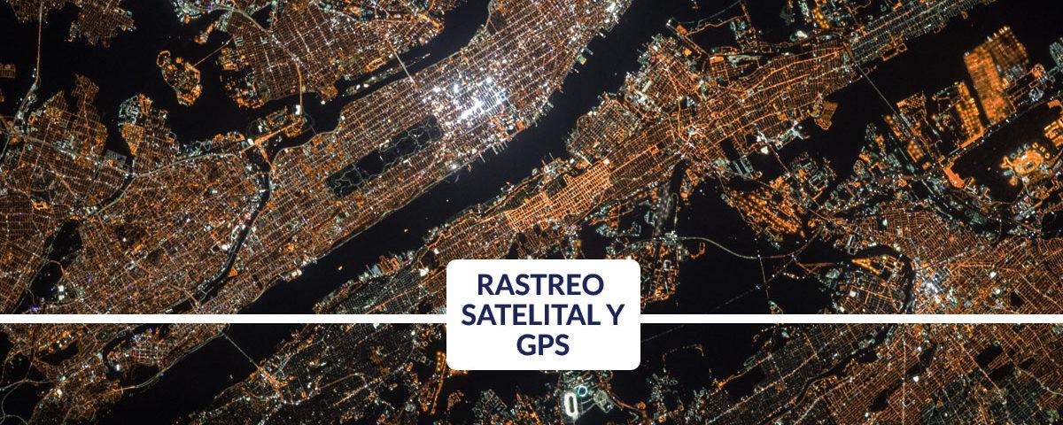 rastreo satelital sistema de posicionamiento global gps