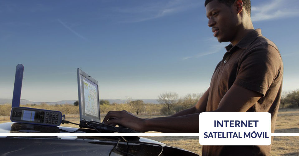 soluciones de internet satelital movil