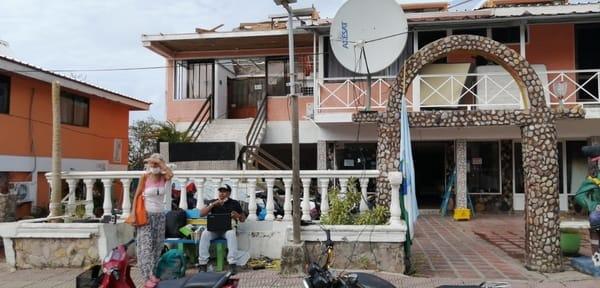 internet satelital huracan san andres