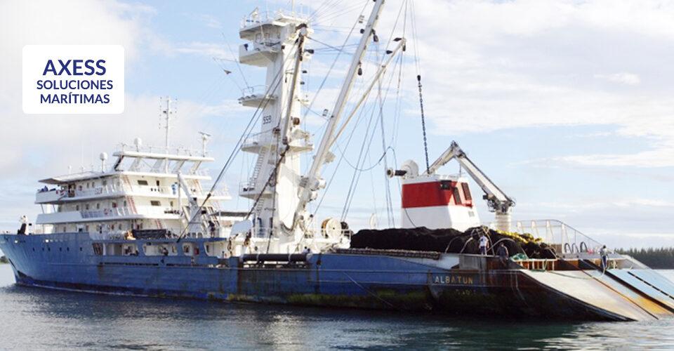 AXESS también es soluciones satelitales marítimas especializadas