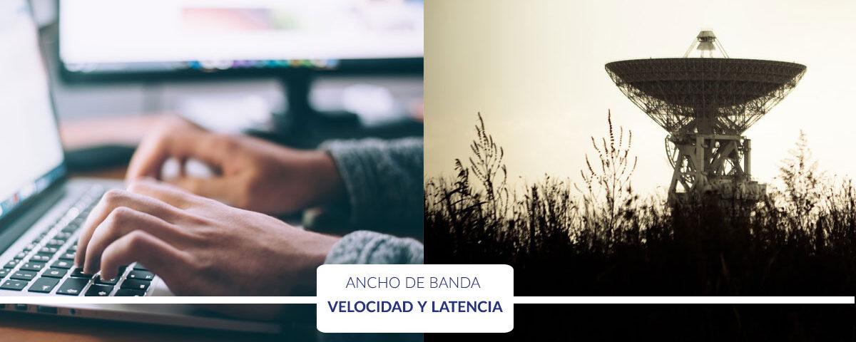 Qué es ancho de banda, banda ancha, velocidad y latencia